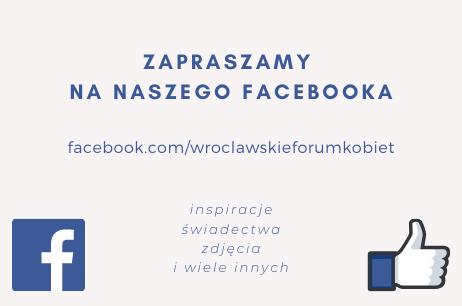 Zapraszamy na naszego Facebooka